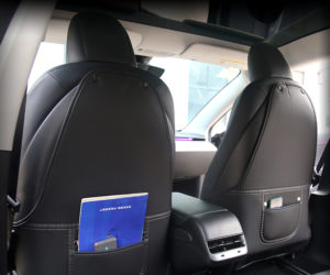 Tesla Model 3 and Tesla Model Y anti-kick pad to protect the back of the front seats